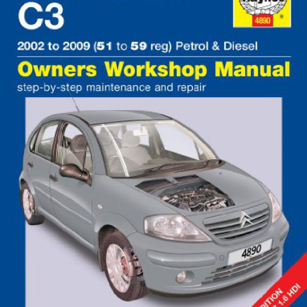 Citroen-C3-Repair-Manual-Haynes-Manual-Service-Manual-Workshop-Manual-2002-2009-0